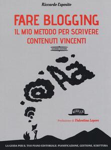 Fare blogging. Il mio metodo per scrivere contenuti vincenti.pdf