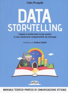 Secchiarapita.it Data storytelling. Impara a trasformare le tue analisi in una narrazione comprensibile da chiunque Image