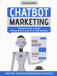 Writersfactory.it Chatbot marketing. Moltiplica contatti e vendite offrendo servizi e soluzioni in modo automatico Image