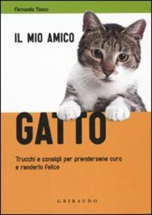 Il mio amico gatto. Trucchi e consigli per prendersene cura e renderlo felice - Fernanda Tosco - copertina
