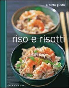 Foto Cover di Riso e risotti, Libro di  edito da Gribaudo