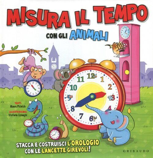 Misura il tempo con gli animali. Con gadget
