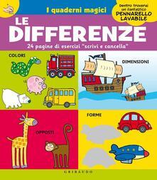 Camfeed.it Le differenze. I quaderni magici. Con gadget Image