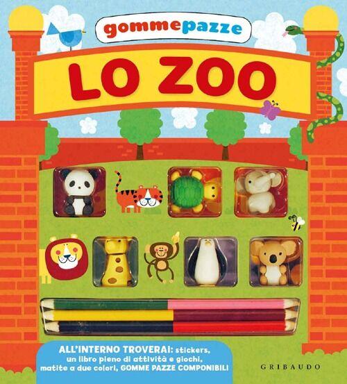 Lo zoo. Gomme pazze. Con gadget. Con adesivi