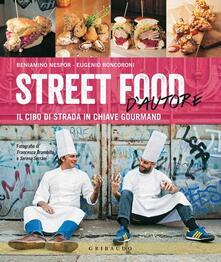 Antondemarirreguera.es Street food d'autore. Il cibo da strada in chiave gourmand. Testo inglese a fronte Image