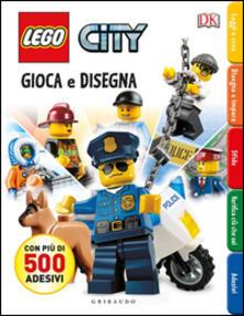 Ristorantezintonio.it Gioca e disegna. Disegna e crea. Lego city. Con adesivi. Ediz. illustrata Image