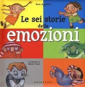 Copertina  Le sei storie delle emozioni