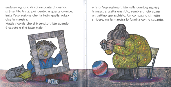 Libro Le sei storie delle emozioni Sara Agostini 4