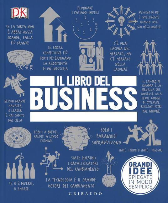 Il libro del business. Grandi idee spiegate in modo semplice - copertina