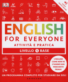 Parcoarenas.it English for everyone. Livello 1° base. Attività e pratica Image