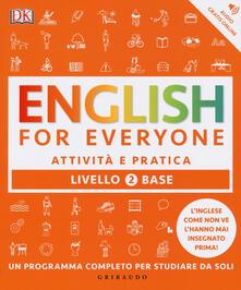 Squillogame.it English for everyone. Livello 2° base. Attività e pratica Image