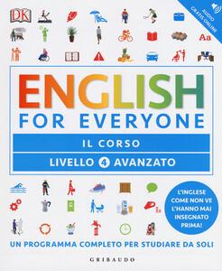 English for everyone. Livello 4° avanzato. Il corso