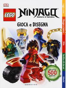 Associazionelabirinto.it Gioca e disegna. Lego Ninjago. Masters of Spinjitsu. Con adesivi. Ediz. a colori Image