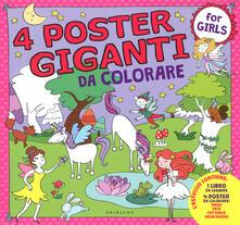 Fondazionesergioperlamusica.it Principesse, fate, mare, fattoria. 4 poster giganti da colorare for girls. Ediz. a colori Image