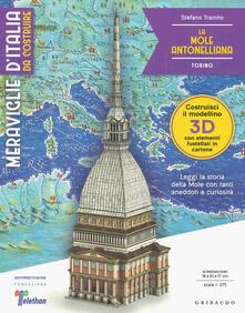 3tsportingclub.it La Mole Antonelliana. Torino. Meraviglie d'Italia da costruire. Ediz. illustrata. Con gadget Image