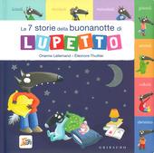 Copertina  Le 7 storie della buonanotte di Lupetto