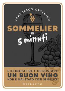 Libro Sommelier in 5 minuti Francesco Orsenigo