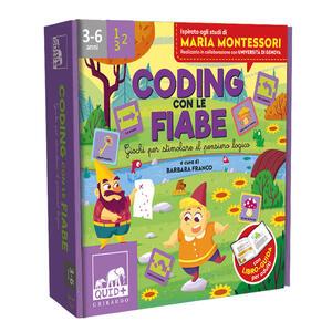 Libro Coding con le fiabe. Giochi per stimolare il pensiero logico. Ediz. a colori. Con 48 carte. Con tappeto gioco Barbara Franco