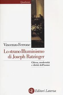 Antondemarirreguera.es Lo strano illuminismo di Joseph Ratzinger. Chiesa, modernità e diritti dell'uomo Image