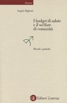 Grandtoureventi.it I budget di salute e il welfare di comunità. Metodi e pratiche Image