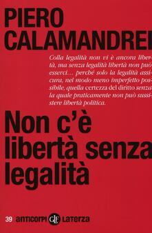 Radiospeed.it Non c'è libertà senza legalità Image