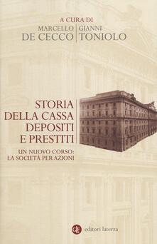 Storia della Cassa depositi e prestiti. Un nuovo corso: la società per azioni.pdf