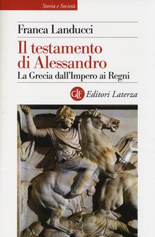 Equilibrifestival.it Il testamento di Alessandro. La Grecia dall'impero ai regni Image