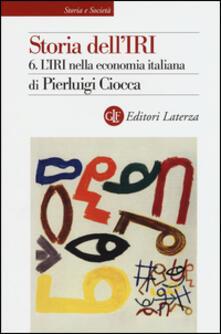 Antondemarirreguera.es Storia dell'IRI. Vol. 6: L'IRI nella economia italiana. Image