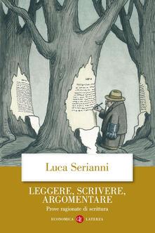 Librisulrazzismo.it Leggere, scrivere, argomentare. Prove ragionate di scrittura Image
