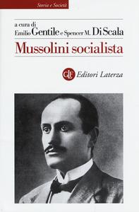 Libro Mussolini socialista