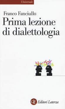 Ilmeglio-delweb.it Prima lezione di dialettologia Image