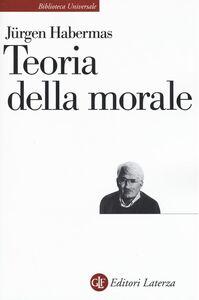Libro Teoria della morale Jürgen Habermas