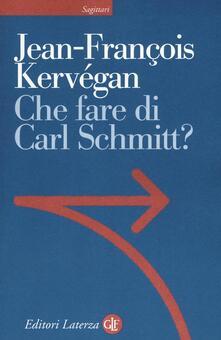 Radiosenisenews.it Che fare di Carl Schmitt? Image