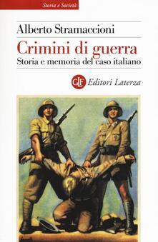 Premioquesti.it Crimini di guerra. Storia e memoria del caso italiano Image