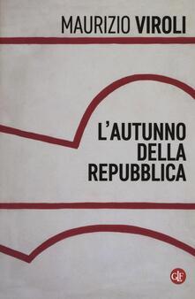 Milanospringparade.it L' autunno della repubblica Image