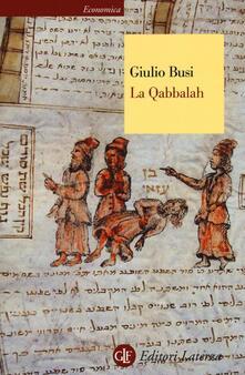 La Qabbalah - Giulio Busi - copertina