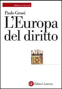 Libro L' Europa del diritto Paolo Grossi