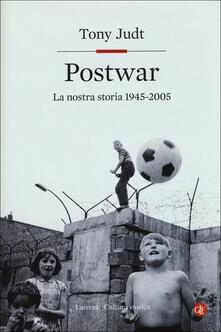 Postwar. Europa 1945-2005 - Tony Judt - copertina