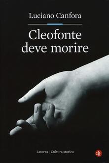 Parcoarenas.it Cleofonte deve morire. Teatro e politica in Aristofane Image