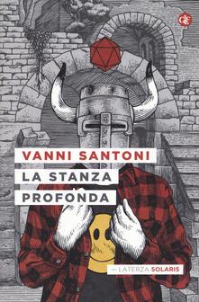 La stanza profonda - Vanni Santoni - copertina