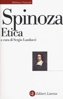 Etica. Esposizione e commento di Piero Martinetti - Baruch Spinoza - copertina