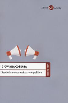 Semiotica e comunicazione politica - Giovanna Cosenza - copertina