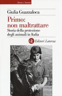 Voluntariadobaleares2014.es Primo: non maltrattare. Storia della protezione degli animali in Italia Image