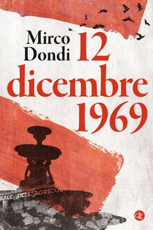 12 dicembre 1969 - Mirco Dondi - copertina