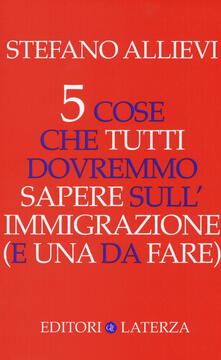 Antondemarirreguera.es 5 cose che tutti dovremmo sapere sull'immigrazione (e una da fare) Image