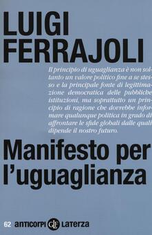 Squillogame.it Manifesto per l'uguaglianza Image