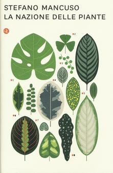 La nazione delle piante - Stefano Mancuso - copertina