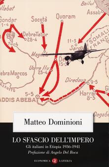 Grandtoureventi.it Lo sfascio dell'impero. Gli italiani in Etiopia (1936-1941) Image