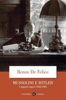 Promoartpalermo.it Mussolini e Hitler. I rapporti segreti (1922-1933) Image