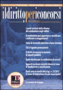 Criticalwinenotav.it Il diritto per i concorsi (2011). Vol. 3 Image